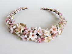 Head Jewelry, Baby Jewelry, Photo Jewelry, Halloween Masquerade, Bridal Tiara, Clay Crafts, Girly Things, Headpiece, Seed Beads