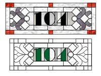 this website has all kinds of stained glass number patterns amber youu0027