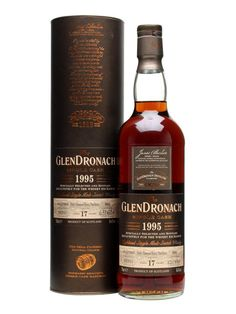 Glendronach 1995 - 17 Year Old - PX Puncheon - TWE Exclusive Scotch Whisky : The Whisky Exchange Liquor Drinks, Whiskey Drinks, Wine And Liquor, Scotch Whiskey, Bourbon Whiskey, Fun Drinks, Whiskey Bottle, Beverage, Whisky Bar