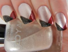 2013 Gameday Nails: Week 9 | Thoughts of a Midwestern Girlie Girl