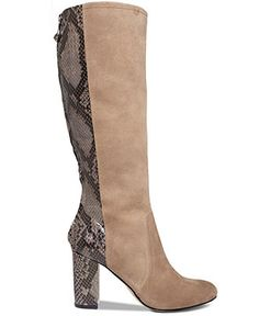 f30630e1be6 Anne Klein Nilise Tall Shaft Dress Boots - Boots - Shoes - Macy s Dress  With Boots