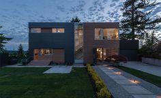 Advanced Rainscreen Envelope Detailing Residential Architecture, Cladding, Entrance, Envelope, House Design, Mansions, Landscape, Single Family, House Styles