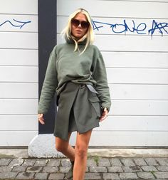 I love khaki ♡ Look Fashion, Daily Fashion, Fashion Outfits, Freja Wewer, Style Personnel, Scandinavian Fashion, Equestrian Outfits, Colourful Outfits, Looks Style