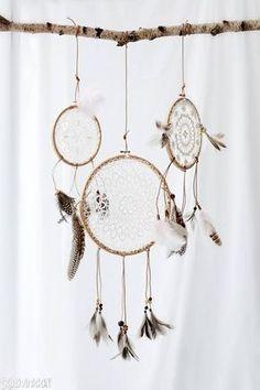 Askartele unisieppari   Kotivinkki Bedroom Decor, Wall Decor, Arts And Crafts, Diy Crafts, Textile Art, Wedding Decorations, Weaving, Easy, Dream Catchers