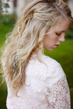 Long Feather Hair Extension Feather Hair Clips
