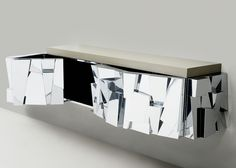 Cityscape II Faceted Console, USA | Paul Evans, Cityscape II Faceted Console, USA (1973)