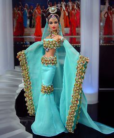 Miss Maldives Barbie Doll 2013