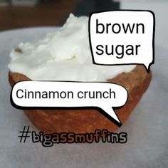 """446 Likes, 44 Comments - mud from WW (@mudhustler_official) on Instagram: """"Here it it is peeps... Brown sugar Cinnamon Crunch roll #bigasscupcake  #bigassmuffins -  1 1/2…"""""""
