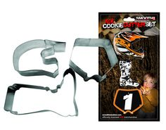 Smooth Industries MX ATV Birthday Christmas Cookie Cake Cutters 3 Pack... have to have these for Vinny's birthday  Party!!!!