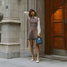 Shop the Look from Jenny Cipoletti on ShopStyleFirst looks from NYFW Pretty Outfits, Fall Outfits, Casual Outfits, Fashion Outfits, Pretty Clothes, Casual Wear, Work Fashion, Paris Fashion, Fashion Looks