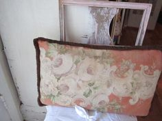Beautiful vintage barkcloth