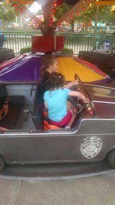 Having fun at Cedar Point yesterday