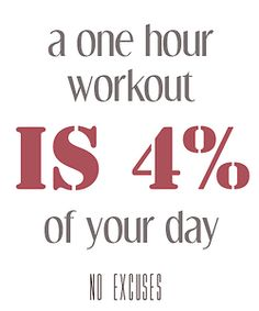 no excuses #fitness