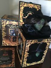 Wizard of Oz 50th Anniversary Wicked Witch Music Box - Halloween Decoration