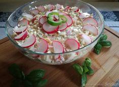 Sałatka wyobraźni Polish Recipes, Polish Food, Salads, Pudding, Favorite Recipes, Snacks, Desserts, Tailgate Desserts, Appetizers