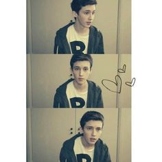 Troye Sivan. Fave youtuber Troye Sivan ❤ liked on Polyvore featuring troye sivan and youtubers