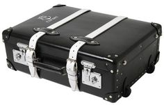 Neighborhood x Globe-Trotter limited edition travel case.