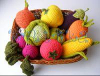 Gallery.ru / Фото #49 - Вязаные витамины (фрукты и овощи) - knitka