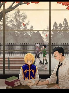 Kurapika, Leorio, Killua, and Gon        ~Hunter X Hunter
