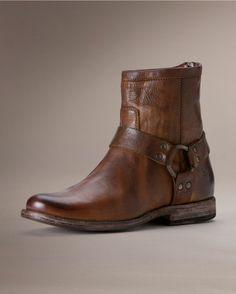 Frye Womens Vintage Phillip Harness Short Boot Belk fb1f76feb