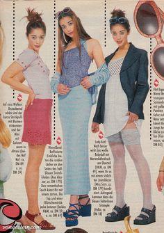 Wir wagen mal wieder einen verstohlenen Blick in den geheimnisvollen Kleiderschrank der Neunziger ( Teil 1 ). Gegen das Vergessen. Gewisse... 90s Teen Fashion, Early 2000s Fashion, Retro Fashion, Vintage Fashion, 1990s Fashion Outfits, 2010s Fashion, Looks Hippie, Flirt, Fashion Catalogue