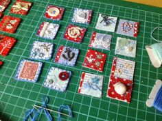 I have been working on more Inchies and looking forward to two forthcoming workshops where I will be teaching my method of making these l...