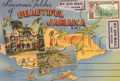 I love vintage postcards!