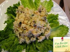 A perfect Summer lunch or light Dinner - Creamy Shrimp Rice Salad. Rice Salad Recipes, Shrimp And Rice, Shrimp Salad, Lettuce, Potato Salad, Salads, Cold, Meals, Salad