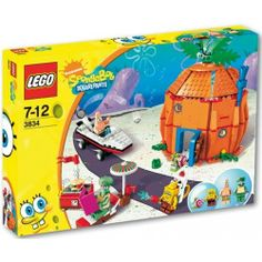 Lego Bob L'eponge 3834 Les Voisins De Bob L'eponge