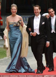 Princess Alexandra of Sayn-Wittgenstein-Berleberg wore this tiara for Princess Martha Louise of Norway's wedding on May 24, 2002.