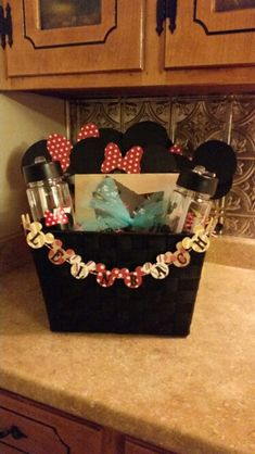 Disney charity auction basket   Disney Gift Baskets ...