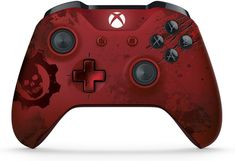 $57.91 FREE SHIPPING Amazon.com: Xbox Wireless Controller - Gears of War 4 Crimson Omen Limited Edition: xbox one: Video Games