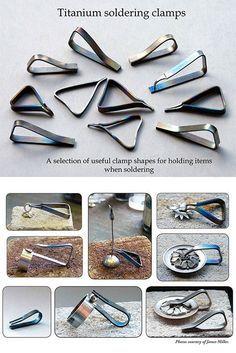 titanium soldering clamps to make