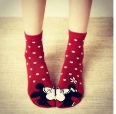 Cutest socks ever!! #disney