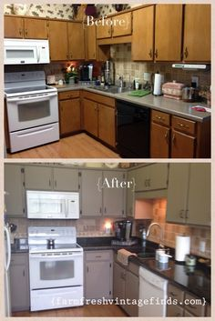 Annie Sloan Kitchen Cabinets Coco This column was contributed by a association member. The angle bidding actuality are the author's own. How to Repaint and Amend your Annie Sloan Kitchen Cabinets, Grey Kitchen Cabinets, Kitchen Cabinet Design, 60s Kitchen, Kitchen Redo, Kitchen Remodel, Kitchen Facelift, Kitchen Things, Kitchen Ideas