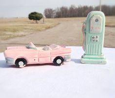 Vintage Soda Shop Salt & Pepper Shakers by ReDigIt on Etsy, $15.00