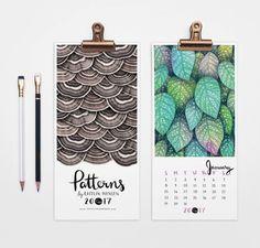 Patterns Wall Calendar