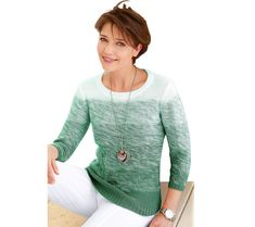 Žíhaný pulovr Collection L. Pullover, Blouse, Long Sleeve, Sleeves, Sweaters, Collection, Tops, Medium, Women