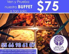 ¡No te quedes con el antojo! Ven y prueba los deliciosos platillos que tenemos para ti... Solo en Jacaranda Buffet... http://negocilibre.com/directorio/jacaranda/