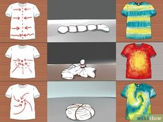 Image titled Tie Dye a Shirt the Quick and Easy Way Step 5 tye dye shirts easy Fête Tie Dye, Tie Dye Party, Kids Tie Dye, Bleach Tie Dye, Shibori Tie Dye, How To Tie Dye, Tye Dye, Tie Dye Steps, Bleach Pen