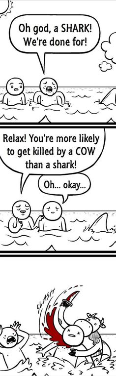 Funny Memes – [Oh God, A Shark! We're Done For] Check more at http://www.funniestmemes.com/funny-memes-oh-god-a-shark-were-done-for/