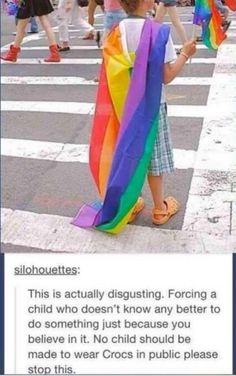 I was really mad at first, that someone would be mad about Gay rights. This is the best plot twist ever!!!!