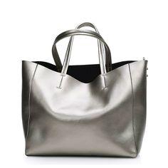 Otoño de Oro Bolsas Big Bag Las Mujeres de Cuero Bolsos de Hombro de Lujo Sac À Principales Marcas Bolsos de Mujer bolsos de Diseño de Alta Calidad bolsas