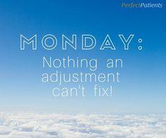 Start the week out right with a #MondayAdjustment! http://advancebackandneck.com/