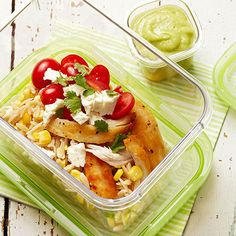 Orzo-Chicken Salad with Avocado-Lime Dressing