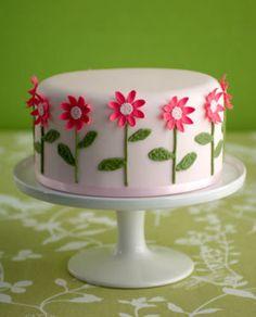Pink Daisy Cake Decoration : Spring Theme Cake Decorating Ideas Decorating Ideas ...