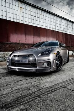 Andrew Bynum's Nissan GT-R by Nike SB'd, via Flickr
