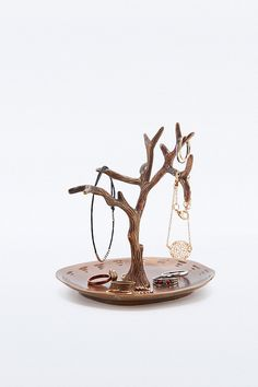 Brass Tree Jewellery Stand - Urban Outfitters