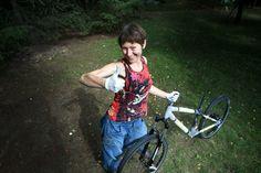 Ale Piękny Świat - blog Doroty Chojnowskiej o podróżowaniu: Bambusowy rower – Jadę do Iranu!