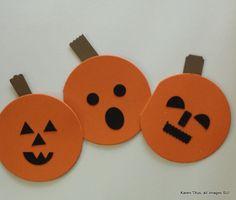 Halloween Cards for Kids to Make! | KarenTitus.com